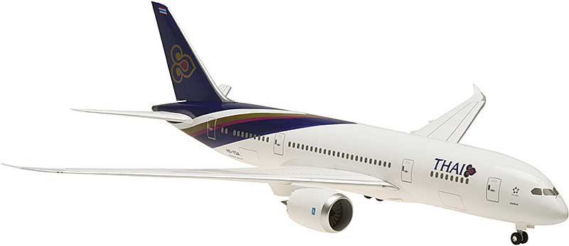 Thai 787-8 Ground Configuration, HS-TQA (1:200)