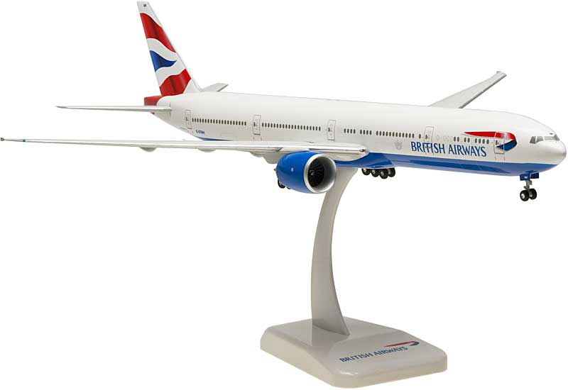 British Airways 777-300ER With Gear, G-STBH (1:200)