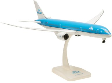 KLM 787-9 (1:200) With Gear, Flexed Wings