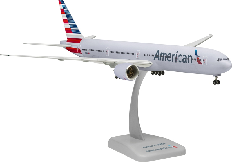 American 777-300 (1:200) With Gear, Registration: N718AN