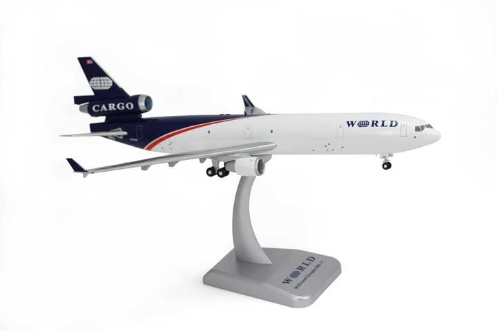 World Airways MD-11F (1:200) W/Gear