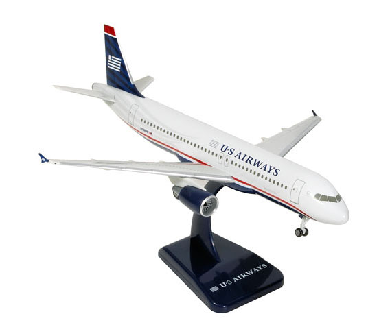 US Airways A320 W/Gear, New Colors (1:200)