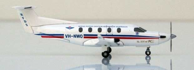 Royal Australia Flying Doctor Pilatus PC-12 (1:150) VH-MWO