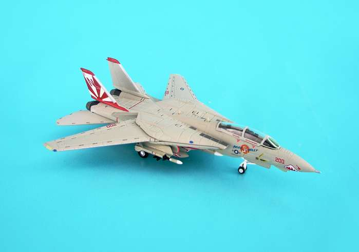 F-14A USN VF-111 Sundowners Cag Bird Miss Molly (1:200)
