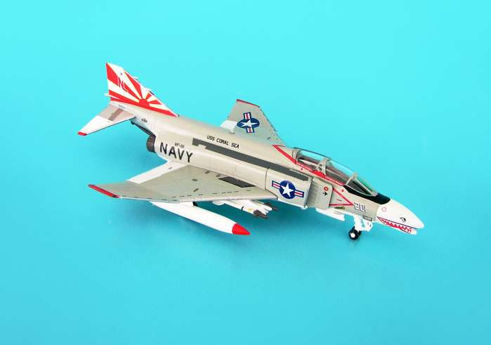 F-4B USN VF-111 Sundowners CVW-15 Uss Coral Sea (1:200)