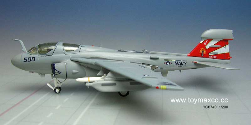 EA-6B USN VAQ136 The Gaunlets Uss George Washington (1:200)