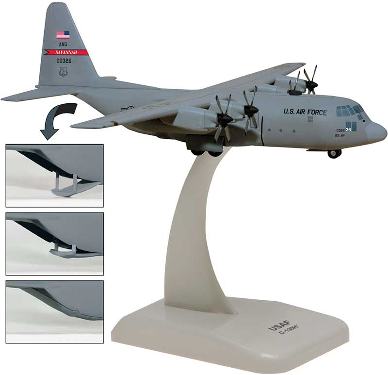 Georgia Air National Guard C-130H (1:200)