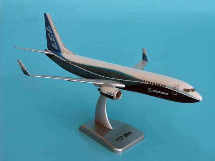 "Boeing 737-800W (1:200) New Livery ""Dreamliner"""