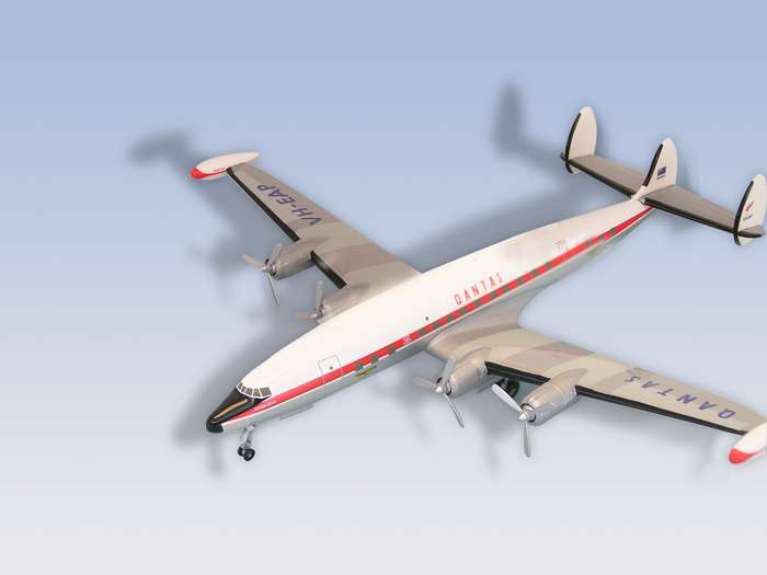 Qantas L-1049 Constellation (1:200)