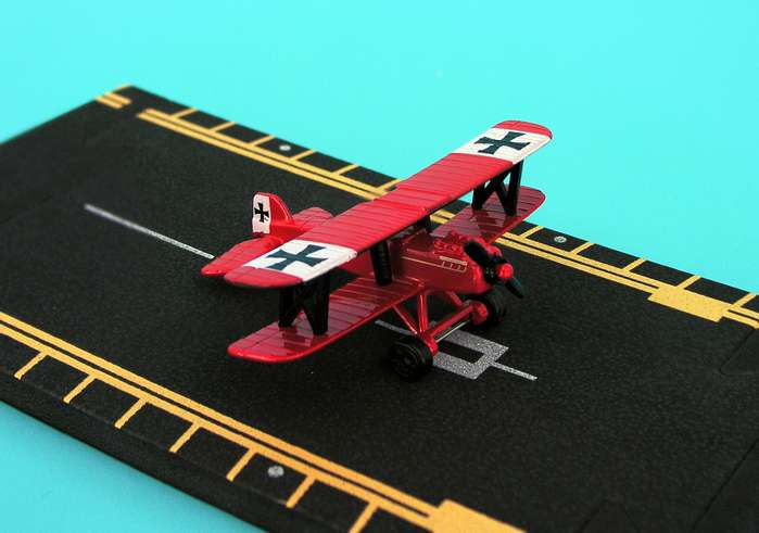 "SE5 Bushwhacker Red Baron (Approx. 5"")"