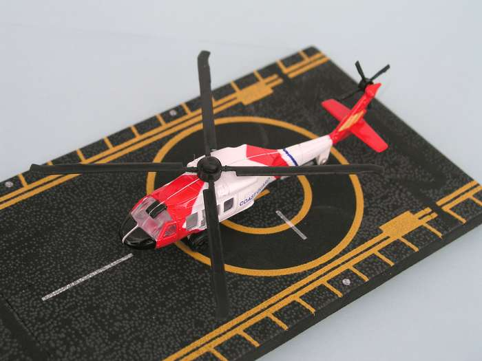 "Coast Guard Helicopter (Approx. 5"")"