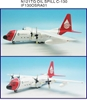 Old Spill Response C-130A Hercules (L-182) N121TG (1:200) - Preorder item, order now for future delivery