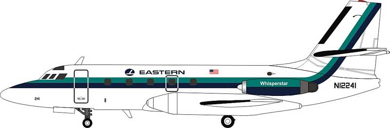 Eastern Air Lines Lockheed L-1329 JetStar 8 N12241 (1:200) - Preorder item, order now for future delivery