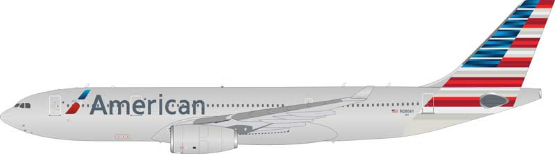 American Airlines Airbus A330-200 N280AY (1:200) - Preorder item, order now for future delivery