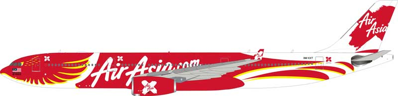 Air Asia X A330-300 9M-XXT (1:200) - Preorder item, order now for future delivery