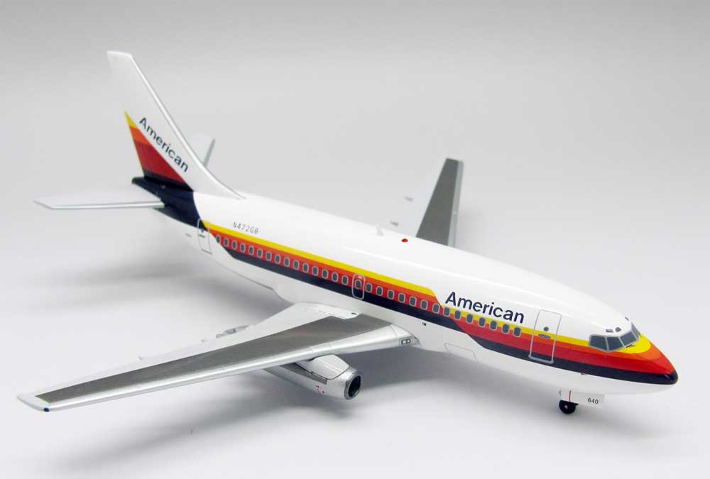 American 737-100 Air Cal Colors N472GB (1:200)
