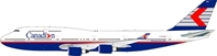 Canadian Airlines Boeing 747-400 C-FBCA 1990s Colors (1:200) - Preorder item, Order now for future delivery