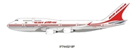 Air India Boeing 747-400 VT-EVA Polished (1:200) - Preorder item, Order now for future delivery