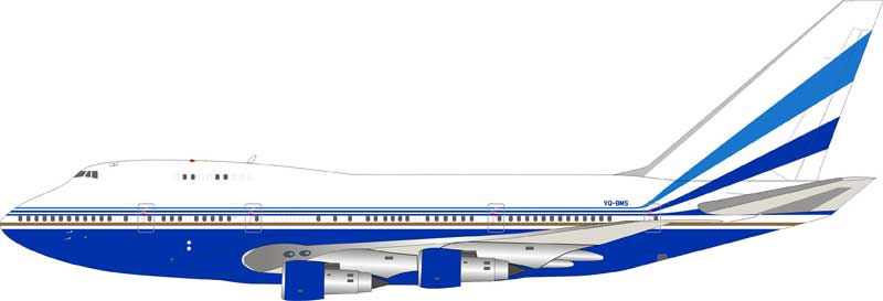 Sands Casino Las Vegas Boeing 747SP VQ-BMS (1:200) - Preorder item, order now for future delivery