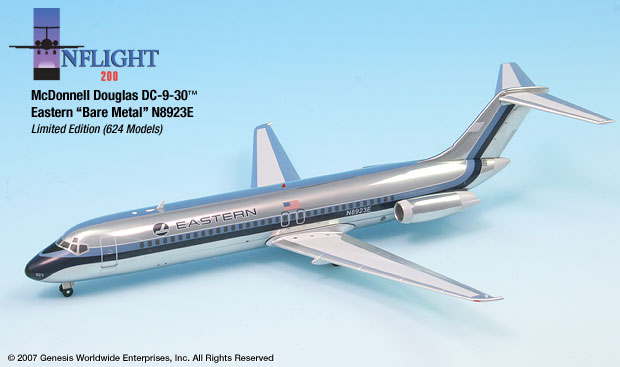 Eastern Air Line polished DC-9-32 (1:200)