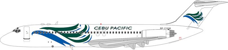 Cebu Pacific Air DC-9-32 RP-C1538 (1:200)