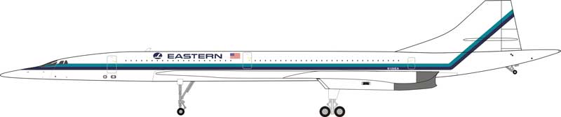 Concorde Eastern N100EA (1:200) - Preorder item, order now for future delivery