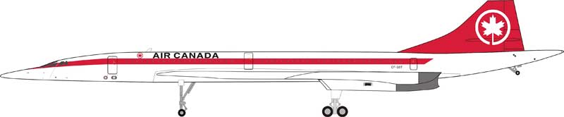 Air Canada Concorde (1:200) - Preorder item, order now for future delivery
