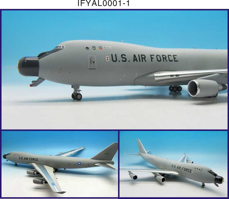 USAF Boeing YAL-1A (747-4G4F) 00-0001 (1:200) - Preorder item, order now for future delivery