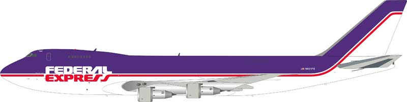 FedEx 747-249F/SCD N631FE (1:200) - Preorder item, order now for future delivery