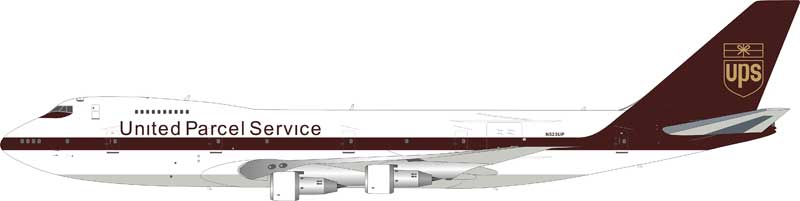 UPS 747-283BSF N523UP (1:200) - Preorder item, order now for future delivery
