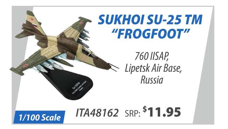"Sukhoi Su-25 TM ""Frogfoot"" 760 IISAP, Lipetsk Air Base, Russia (1:100)"