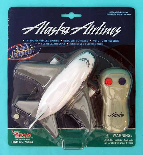 Alaska Airlines Radio Control Airplane