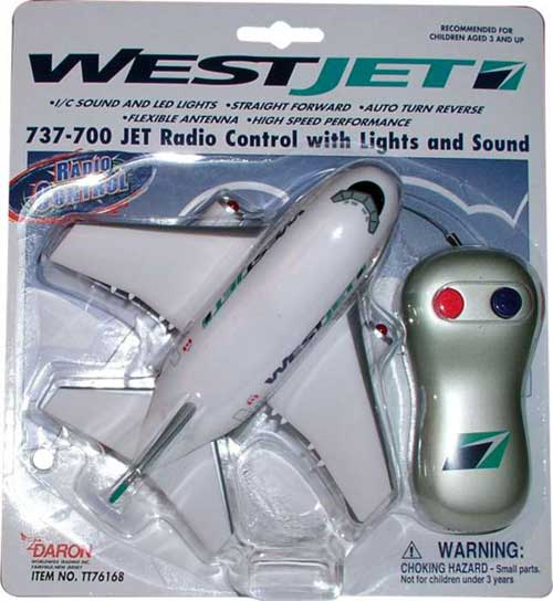 Westjet Radio Control Airplane