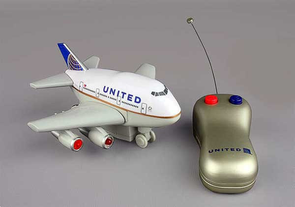 United Post Merger Colors - Radio Control W/LIGHT & Sound
