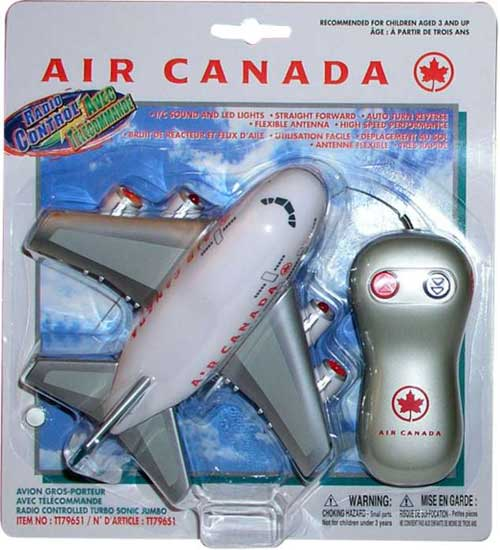 Air Canada Radio Control Airplane