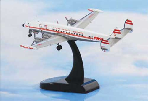 TWA Lockheed L1049G Super Constellation (1:300)
