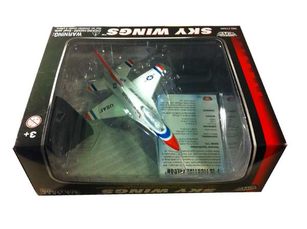 "F-16 Falcon Thunderbirds (Approx. 6"")"