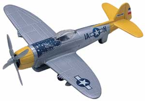 "P-47 Thunderbolt (Approx. 6"")"