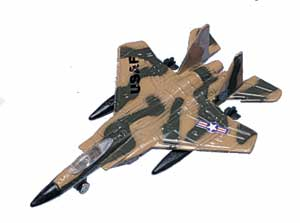 "F-15 Strike Eagle  (Approx. 3.5"")"