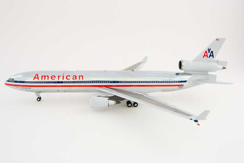"American MD-11 ""Polished"" N1763 (1:200) - New Mould!"