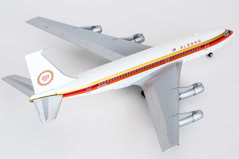 "Alaska 720 ""Golden Nugget Jet"" N75201 (1:200) - Seattle ..."