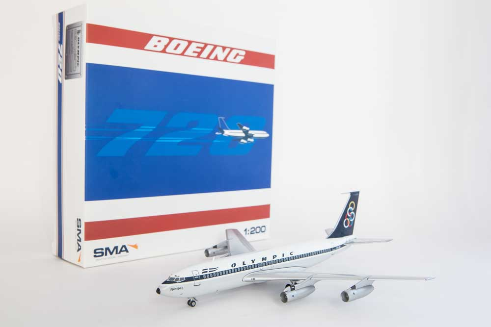 "Olympic Airways Boeing 720-051B ""SX-DBI"" (1:200)"