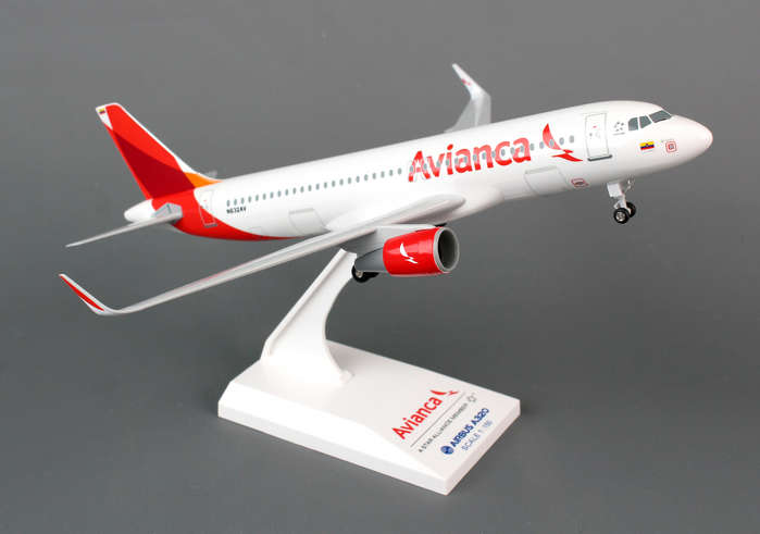 "Avianca A320 ""New Livery"" (1:150) with Gear"