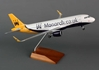 Monarch A320 (1:100) with Wood Stand & Gear