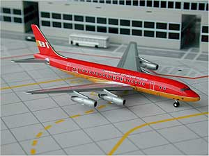 Braniff DC-8-50 (Red) (1:500)