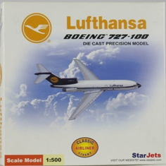 "Lufthansa B727-100 ""New Colors"" (1:500) D-ABBI"