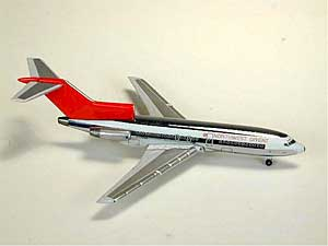 Northwest B727-100 (Chrome) (1:500)