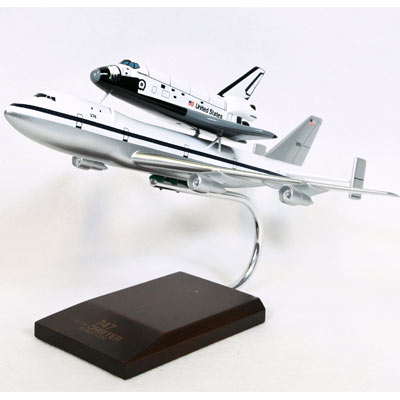 B747 with Shuttle (1:200) - TMC Pacific Desktop Airplane ...