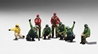 US Navy Deck Crew - Launch Team with 8 Figures (1:200) - Preorder item, order now for future delivery
