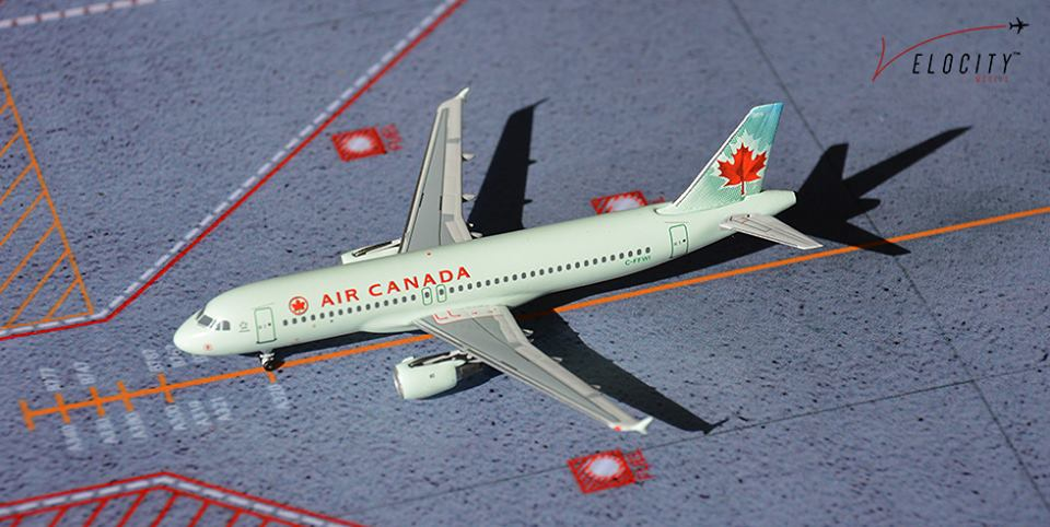 Air Canada A320 C-FFWI  (1:400) with our special launch box artwork